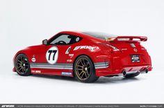 WORK Wheels USA's Nissan 370Z Nismo Edition on WORK Emotion CR ...
