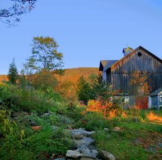 Old barn in the Catskill Mountains.