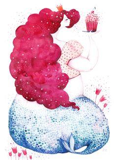 mermaid-illustrations