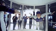 iFLY toronto - experience Give them wings for the Holidays. 30 seconds.