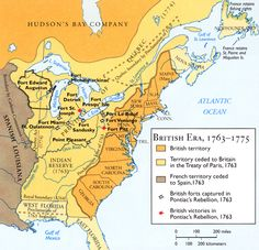 Educational site on the French and Indian War (1753-1766)