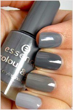 grey.quenalbertini: Nails in Grey Shades | Achados Dali e Daqui