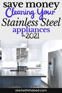 Shiny and New! My stainless steel appliances look brand new with this diy cleaner.