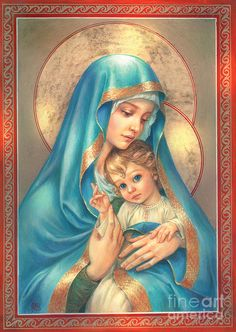 The Virgin Mary DIY Full Drill Round Diamond Embroidery Jesus Christ Diamond Painting Mosaic Stickers Cross Stitch
