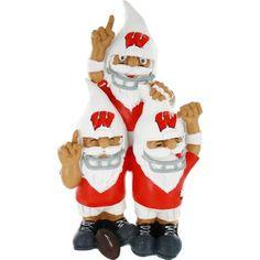 Wisconsin Badgers Team Celebration Gnomes