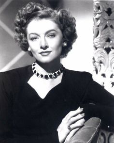 Myrna Loy. Pretty as a young woman, but elegant and twice as stunning as she aged.