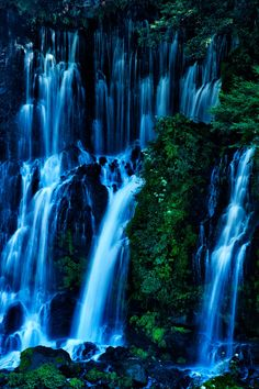 Shiraito Falls, Japan, by Akio Iwanaga on Beautiful Places To Visit, Beautiful World, Japan Travel, Japan Tourism, Places To Travel, Places To Go, Adventure Is Out There, Places Around The World, Beautiful Landscapes
