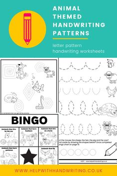 Is your child just learning to write but cannot yet form the letters correctly? These fun handwriting worksheets will help them learn the patterns needed to learn how to write every letter fo the alphabet. For example a zigzag pattern helps children learn to write the letter v, w, and x. Aimed for children aged 5 to 7 years. Kids handwriting fine motor. #handwritingpatterns #writingpatternsactivities