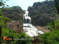 Khandadhar Falls is situated in Keonjhar district in the Indian state of Odisha. It is the 12th highest waterfall in India. It is 104 kilometres from Rourkela and 54 kilometres from Keonjhar.