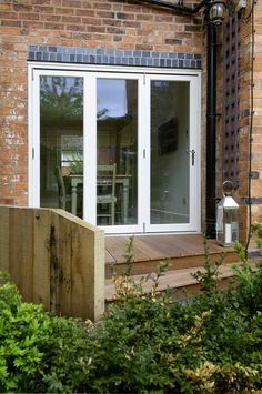 Beautiful, modern & traditional timber front doors - timber entrance doors, all made to measure using engineered timber & top performance double glazing. Timber Front Door, Timber Windows, Double Front Doors, Entrance Doors, Patio Doors, External Bifold Doors, Outdoor French Doors, Bifold French Doors, House Extension Plans