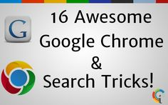 16 Awesome Google Chrome & Search Tricks Power Of Social Media, Google Chrome, Tech Logos, Search, School, Awesome, Searching