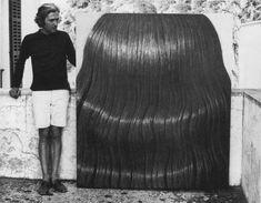 Domenico Gnoli with Black Hair, s'Estaca, Valldemossa, Mallorca, Spain, Summer 1969