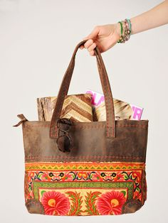 Vintage Leather Tote-11 Main