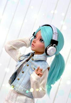 (4arllin) Tags: alpaca doll tan wig moe bjd fairyland celine mnf minifee