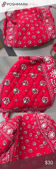 Vera Bradley small duffel bag This item is in great condition!!! Bags Travel Bags