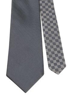 Flipmytie - Men's Light Grey Reversible Tie, $24.99 (http://www.flipmytie.com/mens-light-grey-reversible-tie/)