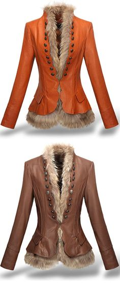 Gorgeous for me in rich, deep brown or cordovan.  Wrapped Luxury Faux Fur Coat