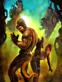 Enslaved: Odyssey to the West Cover Concept