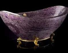 purple bathtub