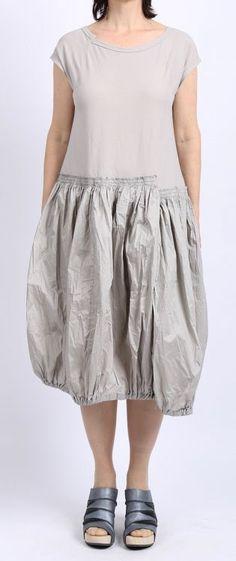 rundholz black label - Kleid in Ballonform Stoff Mix sake - stilecht - mode für frauen mit format...