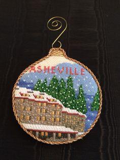 Asheville Ornament ~ Grove Park Inn