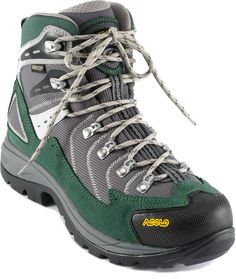 Asolo Fission GV Hiking Boots. Warm, cute, and good ankle support? I'm in! I'm tired of hiking in sneakers and hurting my ankles.