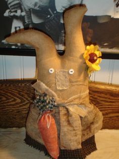 A Primitive Very Grungy Bunny 3
