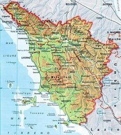Cartina Toscana Da Stampare.15 Idee Su Luoghi Da Visitare Mappa Dell Italia Geografia Mappe