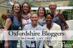 Oxfordshire Bloggers BritMums Live