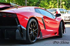 DMC Lamborghini Aventador LP988 Edizione-GT Wrapped In Gloss Cardinal Red   automotive99.com