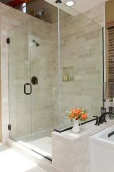 tumbled-marble-tile-Bathroom-Traditional-with-glass-shower-large-shower.jpg (660×990)