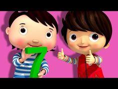 Numbers Song | Number 7 | Nursery Rhymes | Original Song By LittleBabyBum! - YouTube