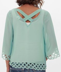 Daytrip Scalloped Top
