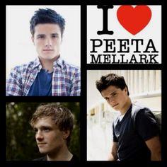 Ahhhh<3 #joshhutcherson #peeta #hungergames #love