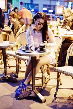 #cafe #coffee #girl