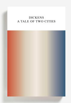 A Tale of Two Cities. Design: Peter Mendelsund