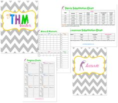 My Trim Healthy Mama Binder {Plus Free Printables}