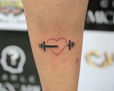 Fitness Inspiration Muscle Crossfit 60 Ideas For 2019 Sport Tattoos, Bff Tattoos, Hair Tattoos, Mini Tattoos, Future Tattoos, Body Art Tattoos, Small Tattoos, Journey Tattoo, Hunter Tattoo