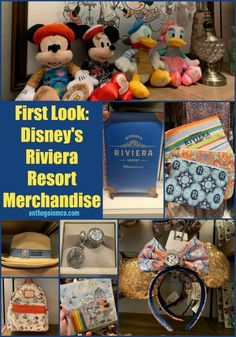 Disney's Riviera Resort, the newest Disney Vacation Club resort, has some amazing resort specific merchandise at the Resort's gift shop called La Boutique.