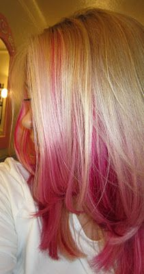 Sam Schuerman: How To Dye Your Hair Pink!!! I love it! ♥