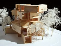 I remember making stuff like this while in architecture school; those were the days.