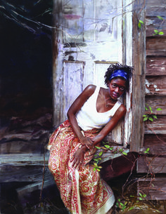 by Mary Whyte... my favorite artist from the South. Her paintings look like photos.