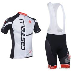 Wholesale Cycling Clothes - Buy New 2013 Castelli Short Sleeve Cycling Jersey And Cycling Bib Shorts Kit Castelli Cycling Clothing Set SIZE:S-XXXL $35.01 | DHgate