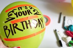 How to Write on a Balloon | eHow