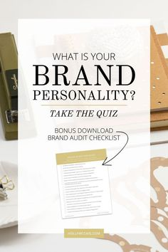 Your brand personality is something that your audience can relate to and is consistent with your content, your products, and your overall brand presence. Ever wonder what yours is? Take the free quiz today! Visit at http://hollymccaig.com