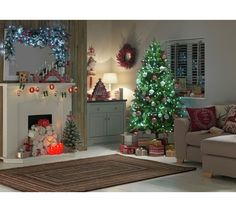 Buy Table Top Snow Covered Christmas Tree - 2ft at Argos.co.uk - Your Online Shop for Christmas trees, Christmas trees, lights and decorations, Home and garden.