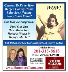 Keller Williams will help you find a home in Hillsdale or anywhere in the Bergen County areas. Local Real Estate, Real Estate Sales, Bergen County, Today's Market, Keller Williams, Finding A House, Estate Homes, Home Values, The Neighbourhood