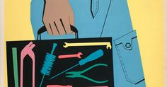Egidio Bonfante, Olivetti STAC Servizio Tecnico Assistenza Clienti poster, 1953