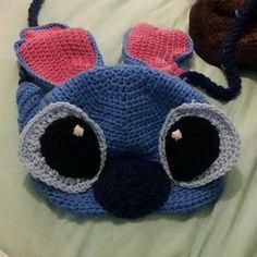Disney Inspired Lilo and Stitch Beanie Pattern