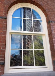 NYC Historic Simulated Double Hung by Zola Windows of Germany Architecture Fashion, Double Hung Windows, Bay Window, European Windows, Historic Windows, Decor Inspiration, Double Hung, Home Remodeling, Modern